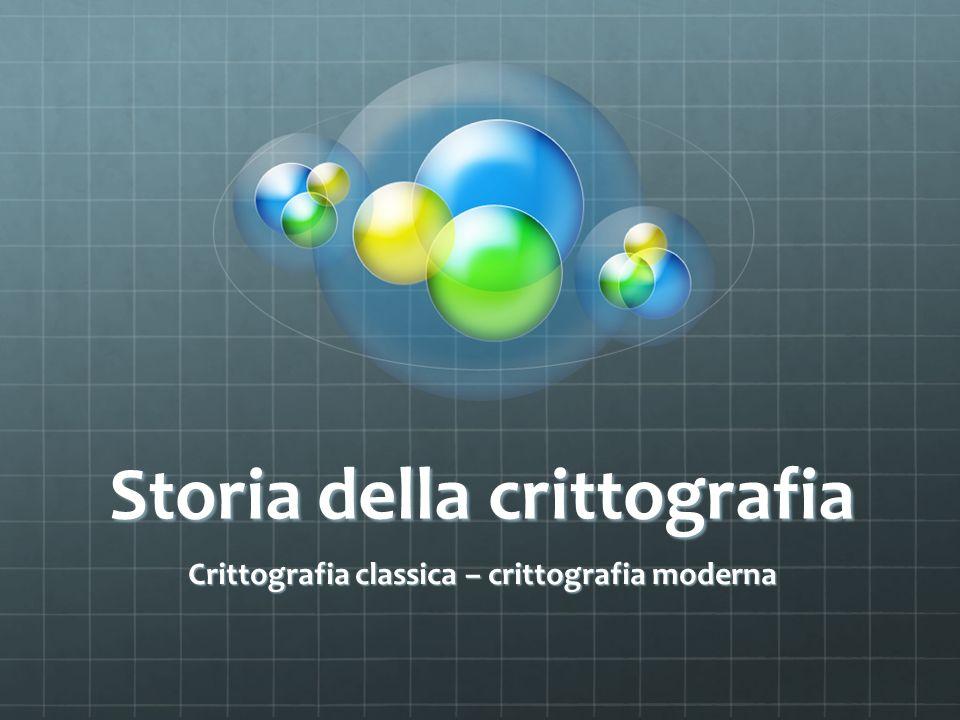 Storia della crittografia