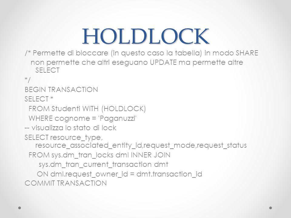HOLDLOCK
