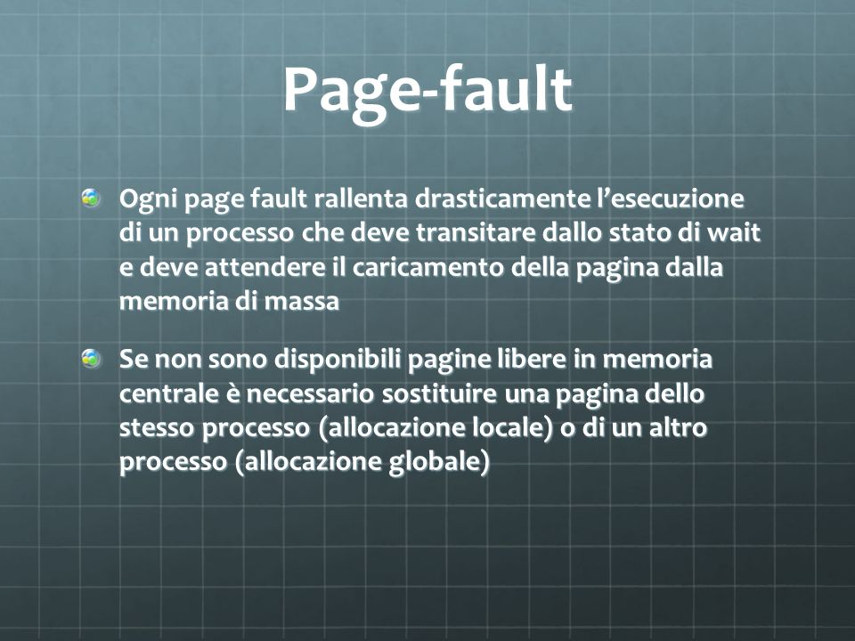 Page-fault