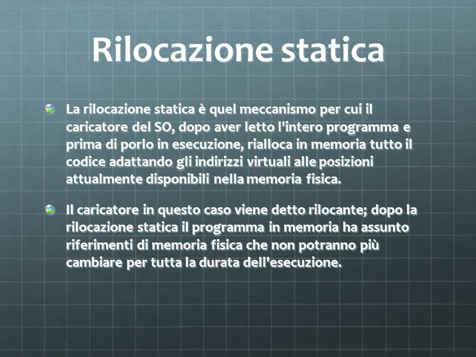 Rilocazione statica