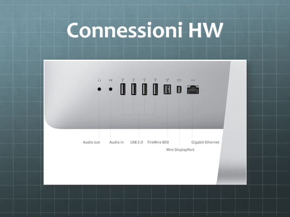 Connessioni HW