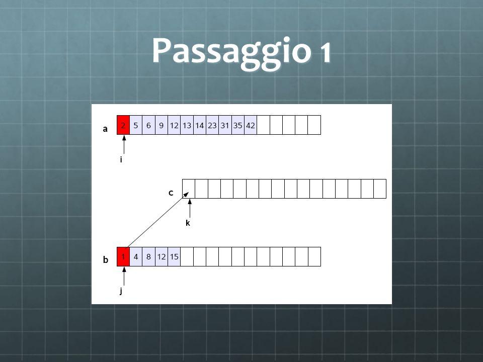 Passaggio 1