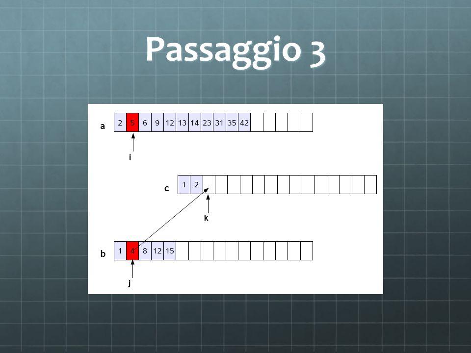 Passaggio 3
