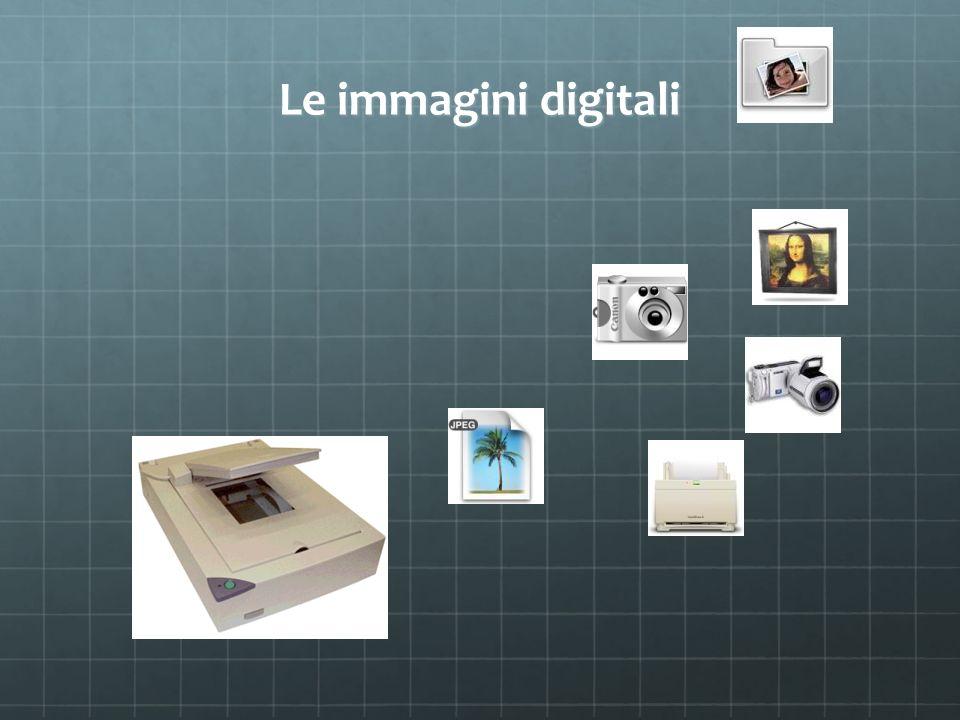 Le immagini digitali