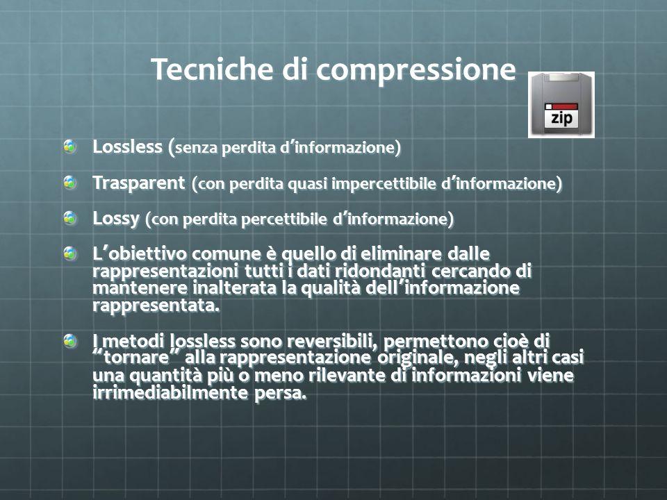 Tecniche di compressione