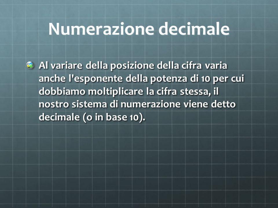 Numerazione decimale
