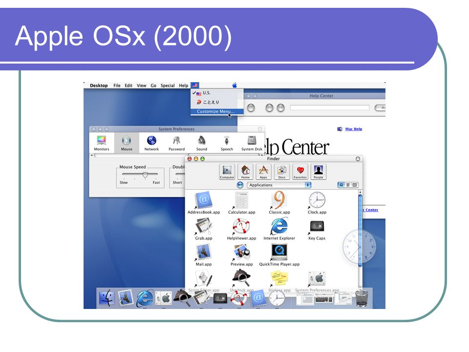 Apple OSx (2000)