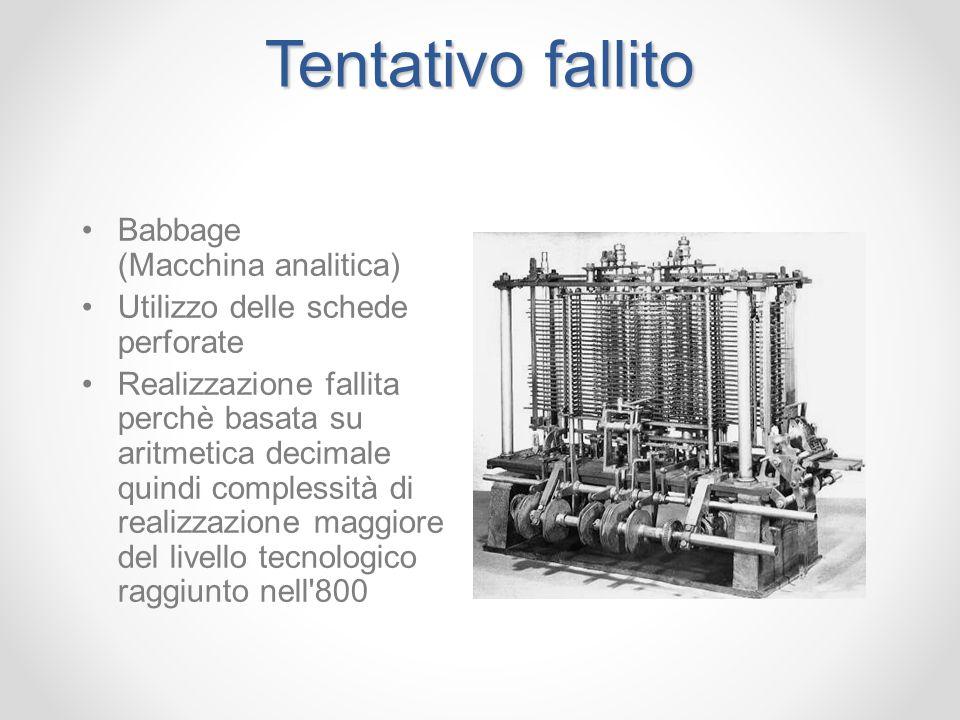 Tentativo fallito Babbage (Macchina analitica)
