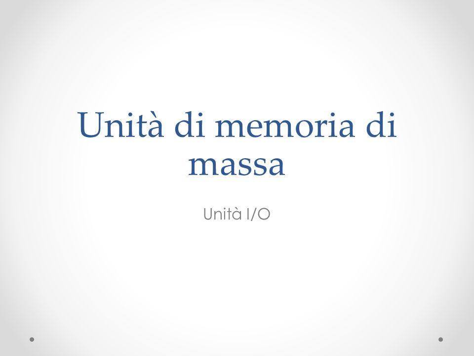 Unità di memoria di massa