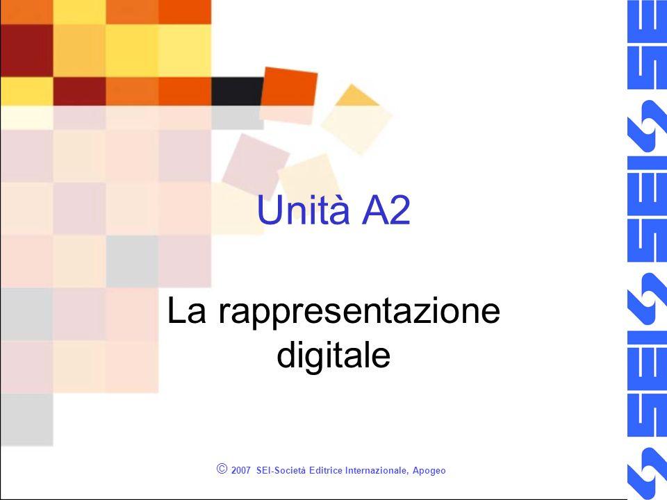 La rappresentazione digitale