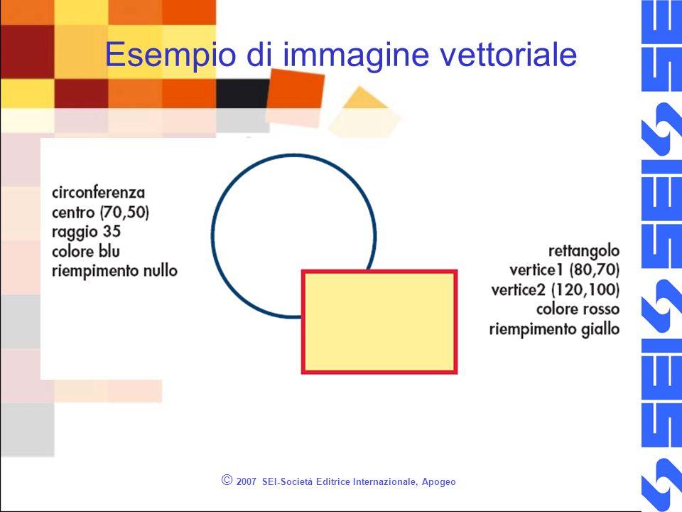 Esempio di immagine vettoriale