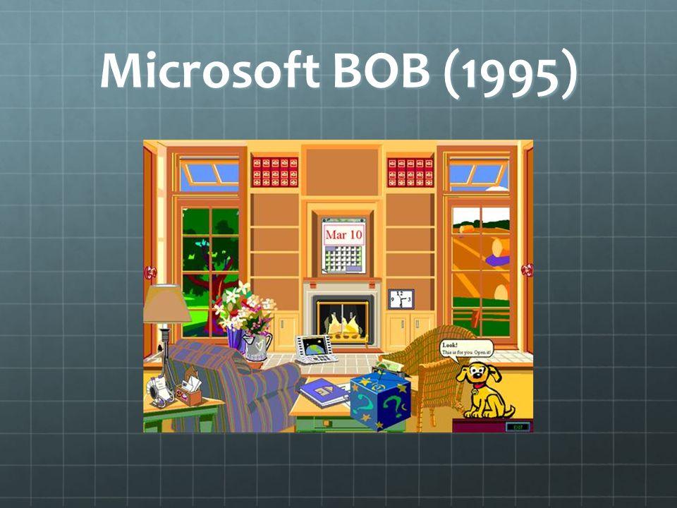 Microsoft BOB (1995)