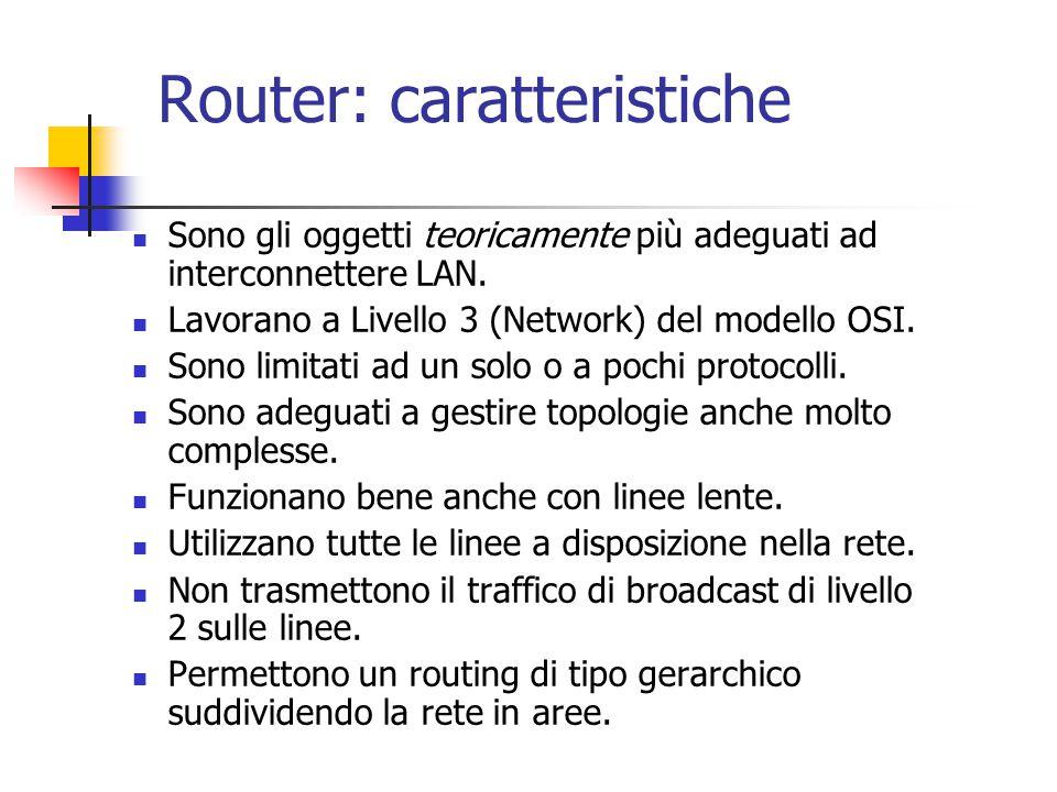 Router: caratteristiche