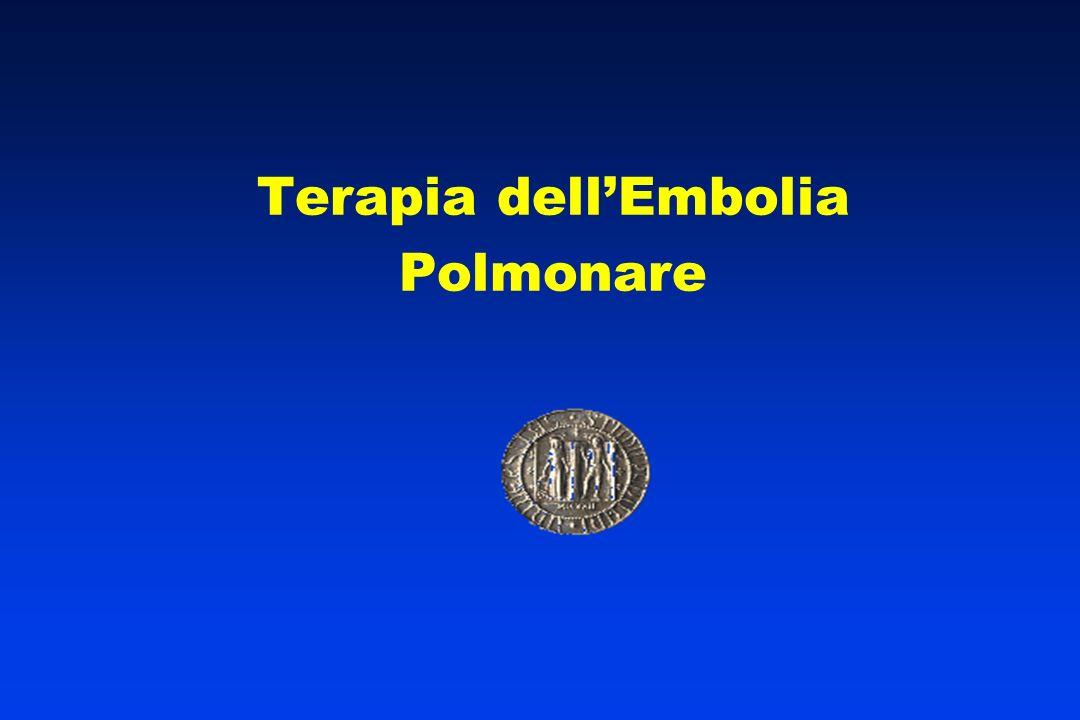 Terapia dell'Embolia Polmonare