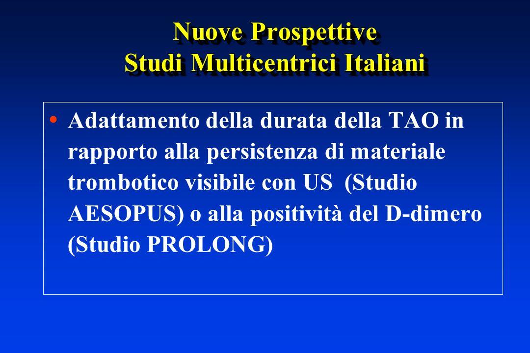 Nuove Prospettive Studi Multicentrici Italiani