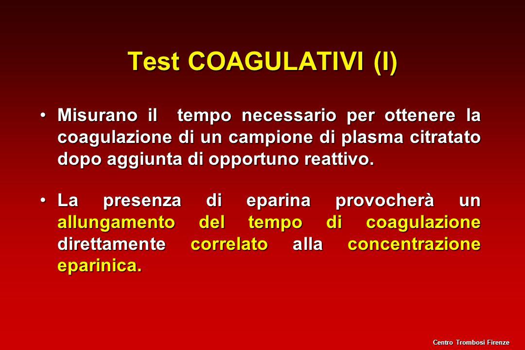 Test COAGULATIVI (I)