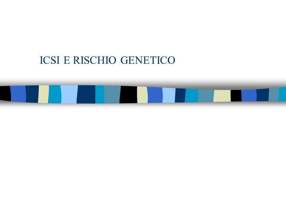 ICSI E RISCHIO GENETICO