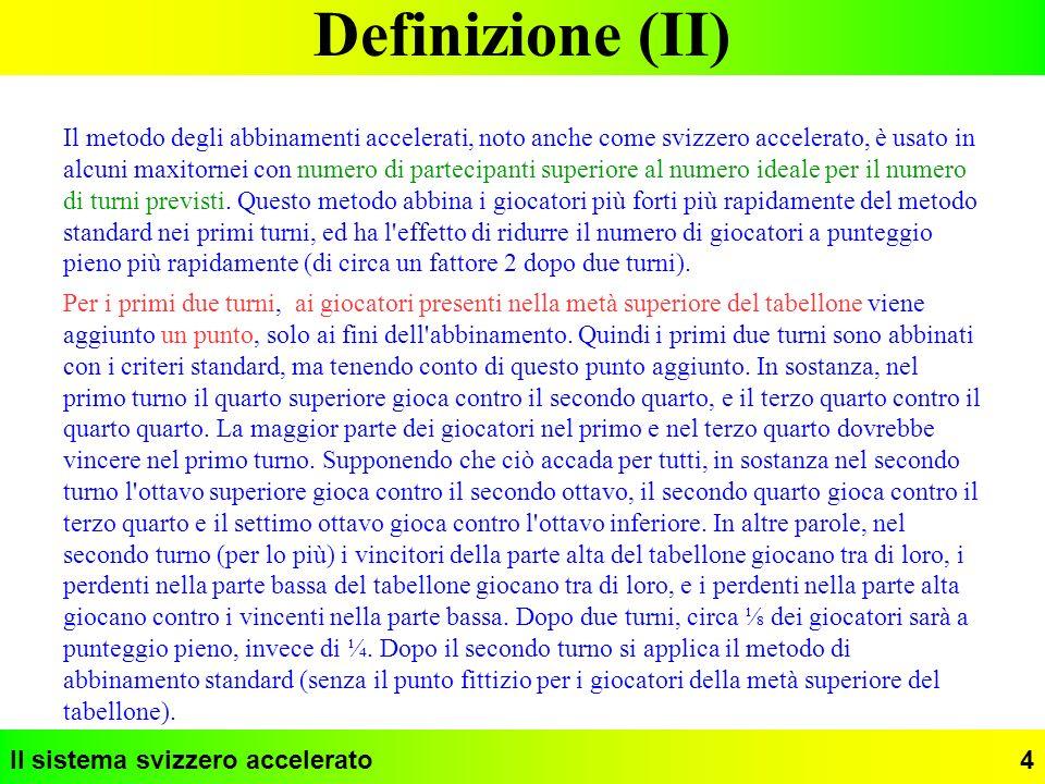 Definizione (II)