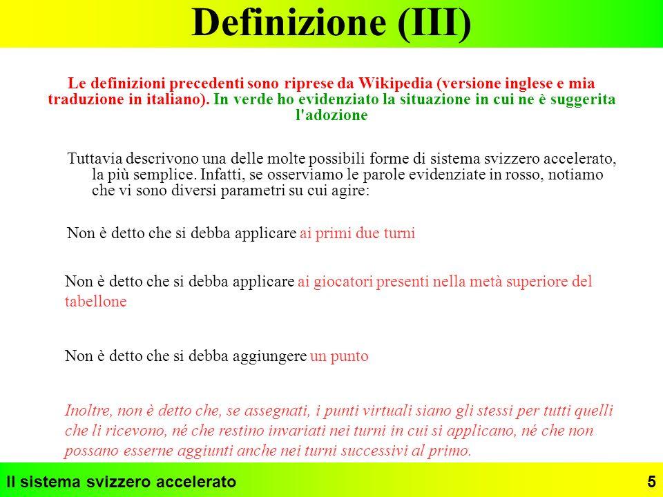 Definizione (III)