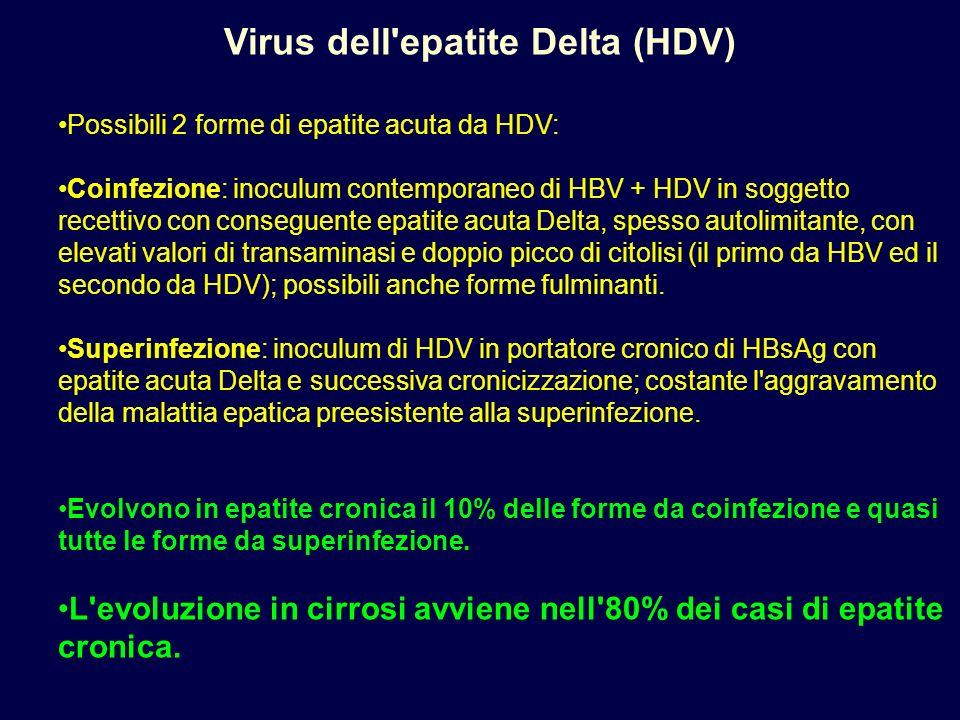 Virus dell epatite Delta (HDV)
