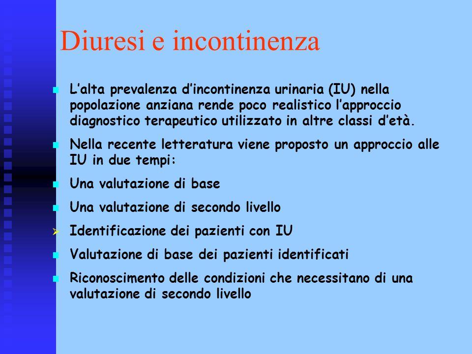 Diuresi e incontinenza