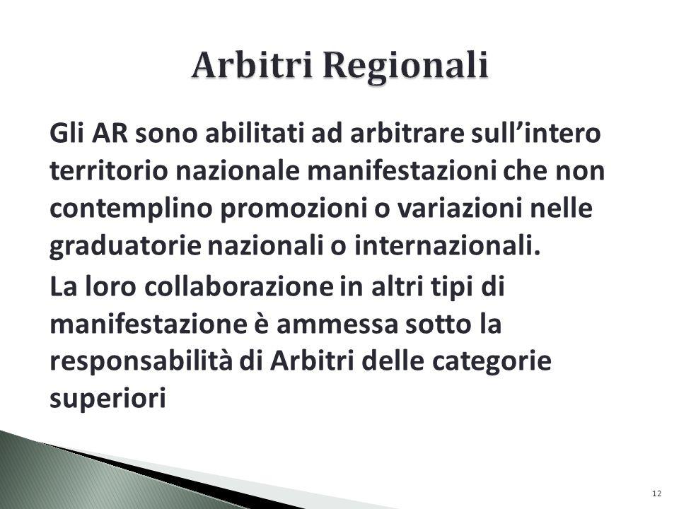 Arbitri Regionali