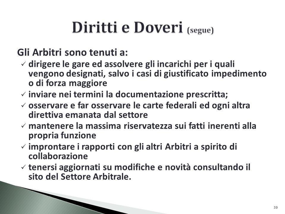 Diritti e Doveri (segue)