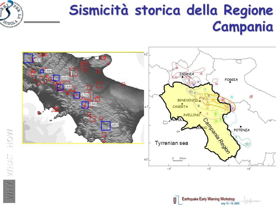 Sismicità storica della Regione Campania