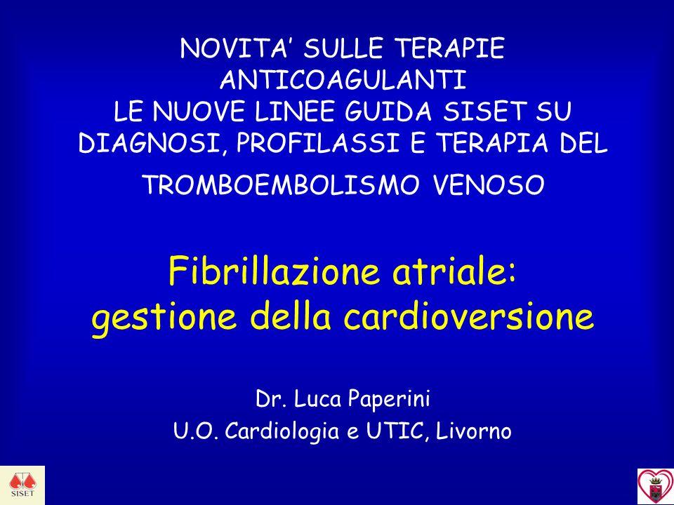 Dr. Luca Paperini U.O. Cardiologia e UTIC, Livorno