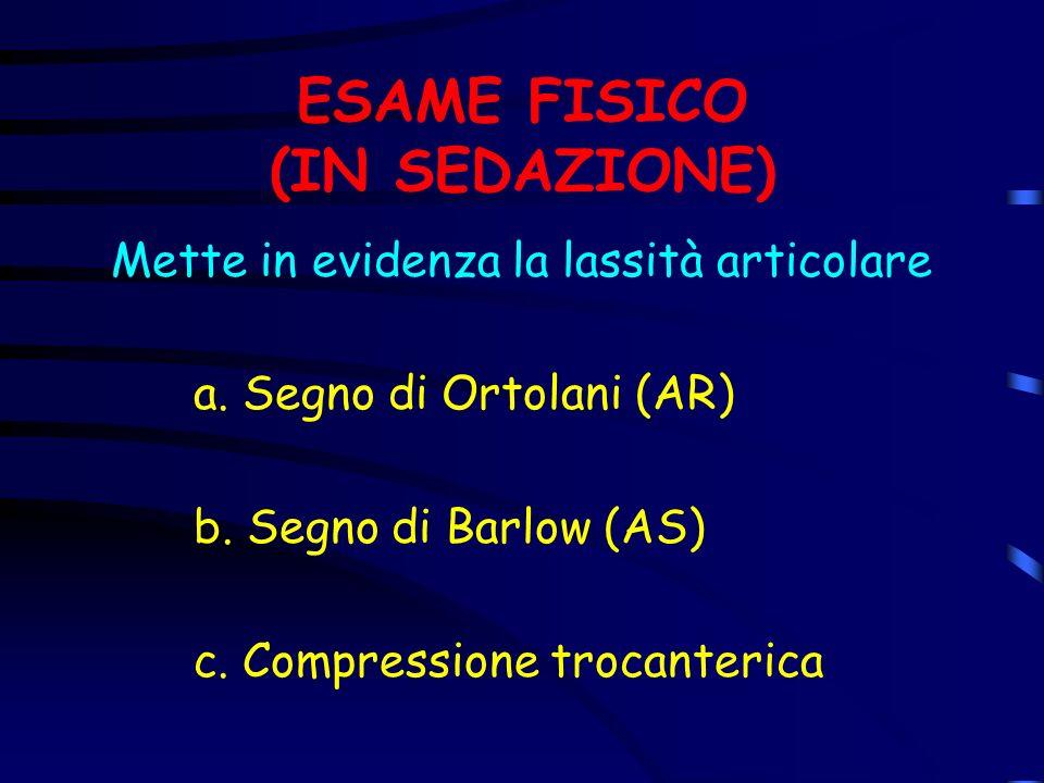 ESAME FISICO (IN SEDAZIONE)