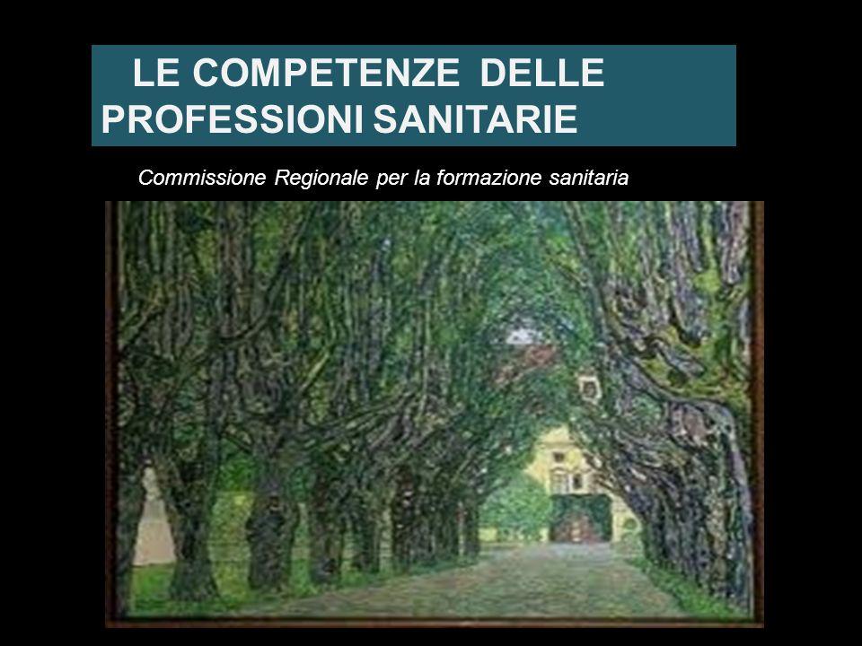 LE COMPETENZE DELLE PROFESSIONI SANITARIE
