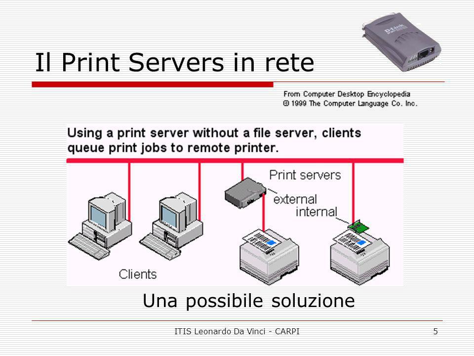 Il Print Servers in rete