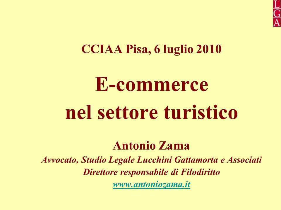 E-commerce nel settore turistico