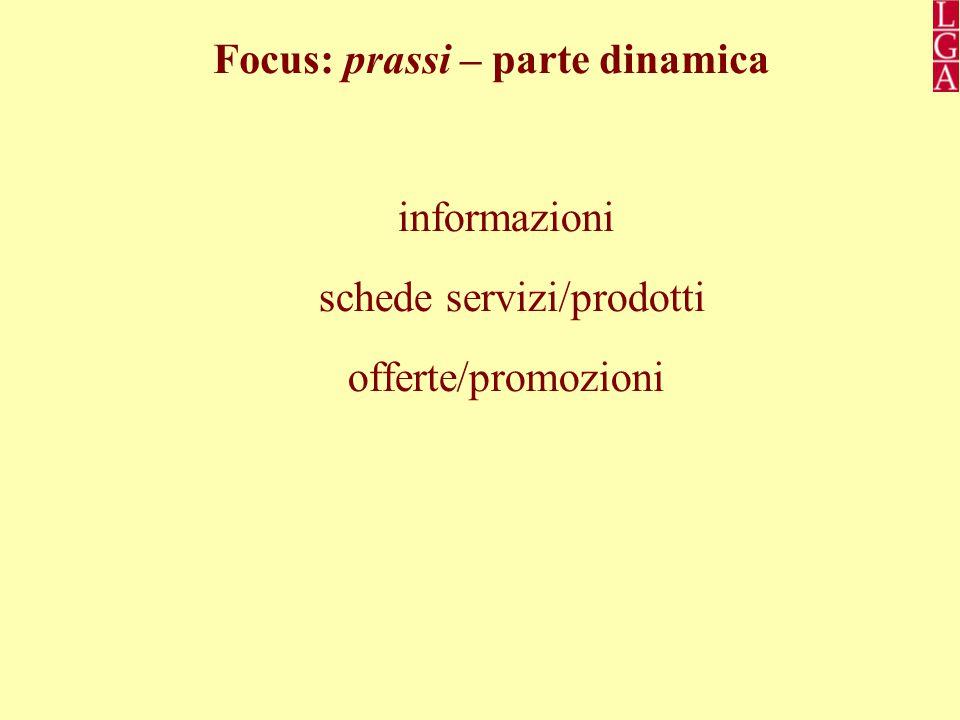 Focus: prassi – parte dinamica