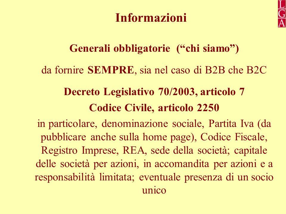 Generali obbligatorie ( chi siamo ) Codice Civile, articolo 2250