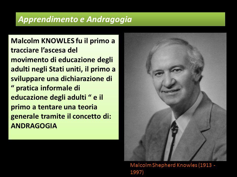 Apprendimento e Andragogia