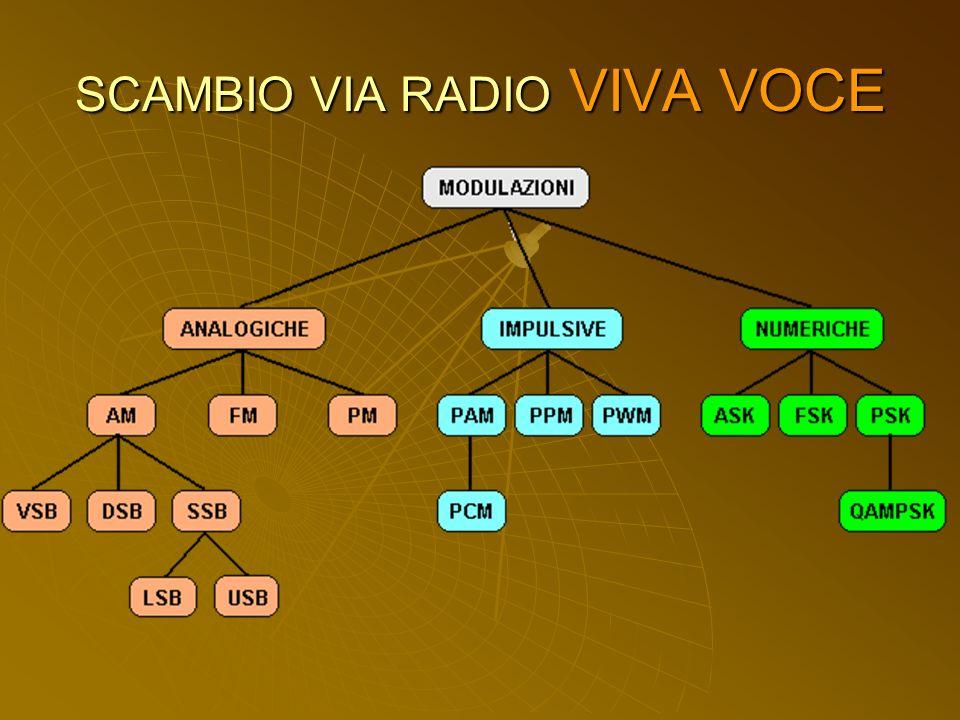 SCAMBIO VIA RADIO VIVA VOCE