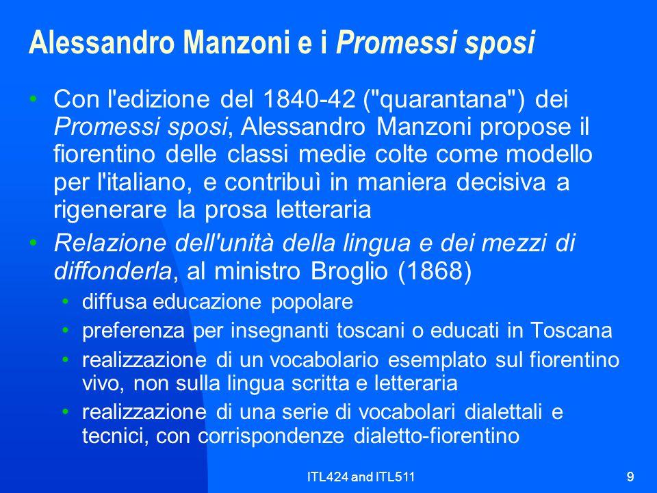 Alessandro Manzoni e i Promessi sposi