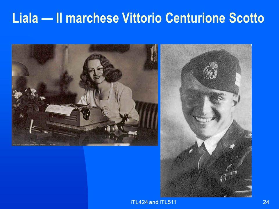 Liala — Il marchese Vittorio Centurione Scotto
