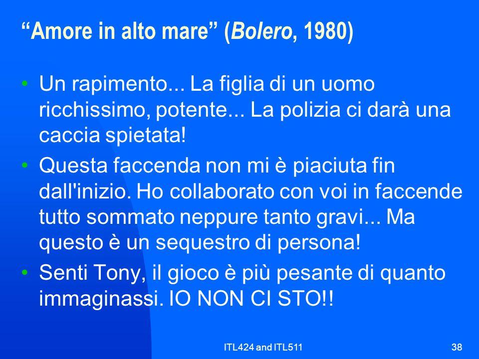 Amore in alto mare (Bolero, 1980)