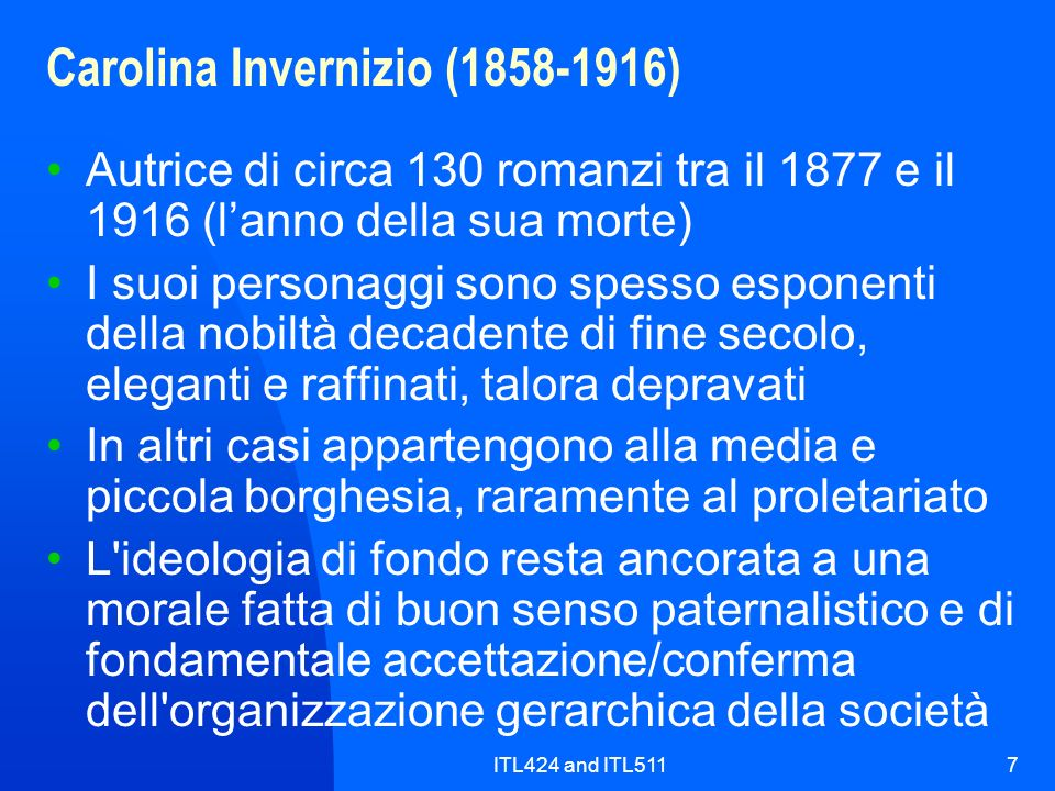 Carolina Invernizio (1858-1916)