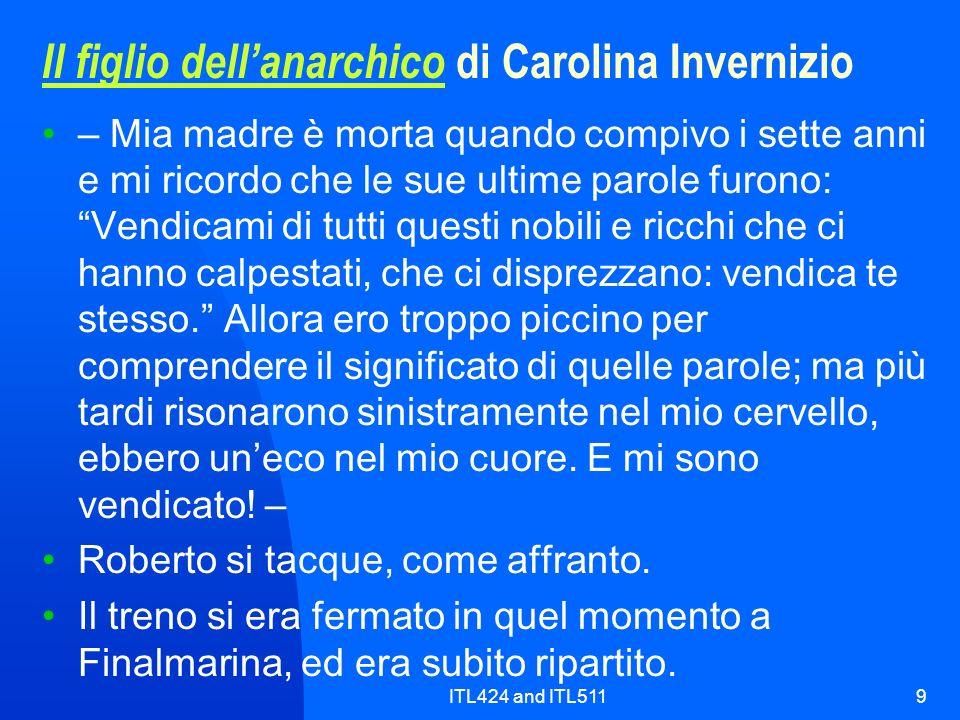 Il figlio dell'anarchico di Carolina Invernizio