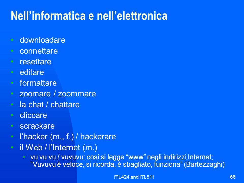 Nell'informatica e nell'elettronica