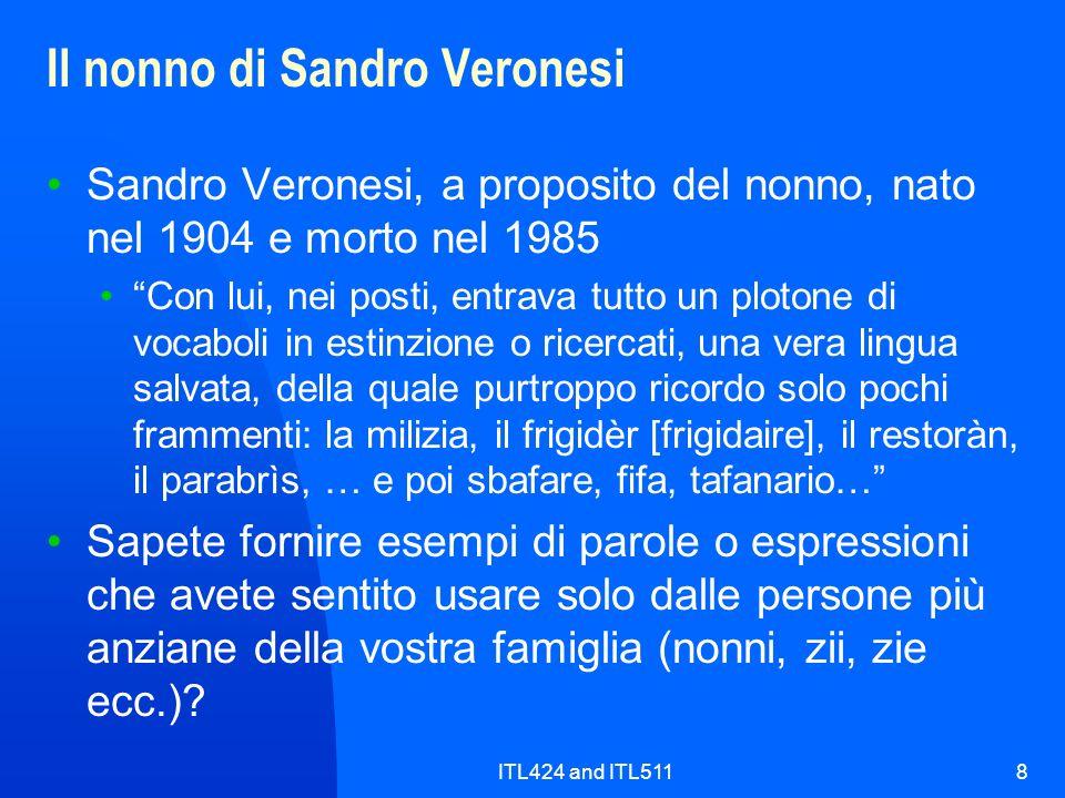 Il nonno di Sandro Veronesi