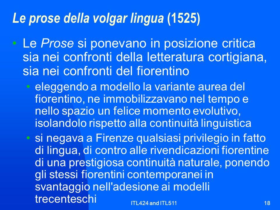 Le prose della volgar lingua (1525)