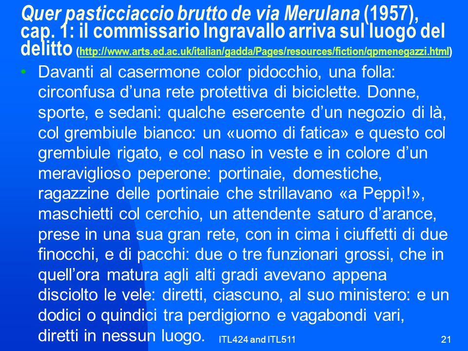 Quer pasticciaccio brutto de via Merulana (1957), cap