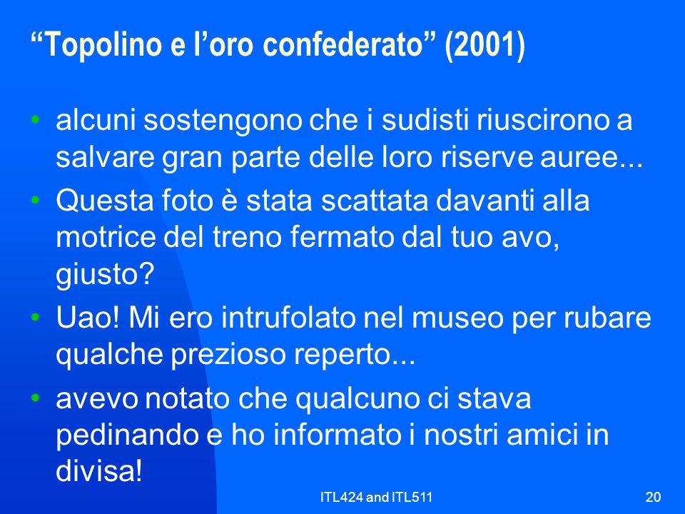 Topolino e l'oro confederato (2001)