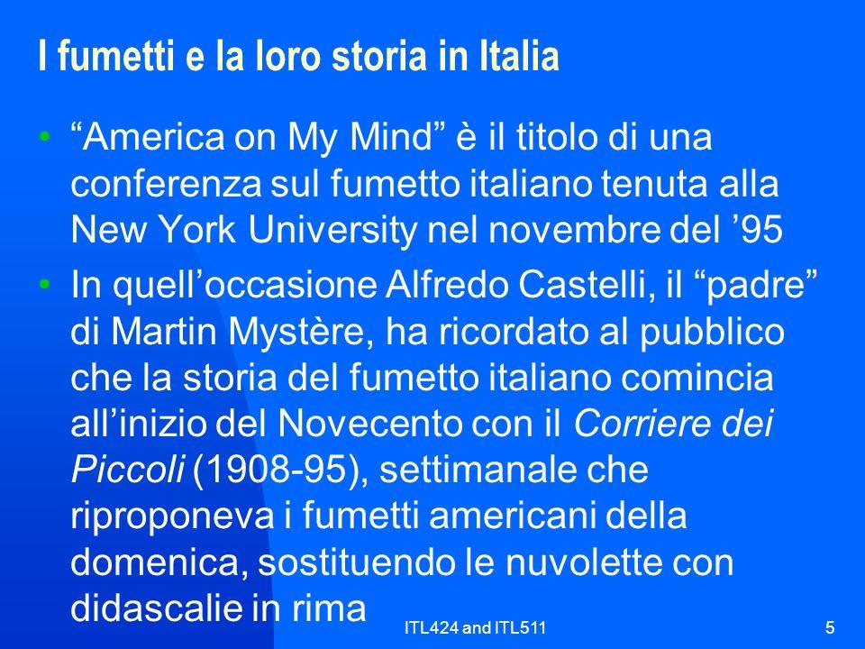 I fumetti e la loro storia in Italia