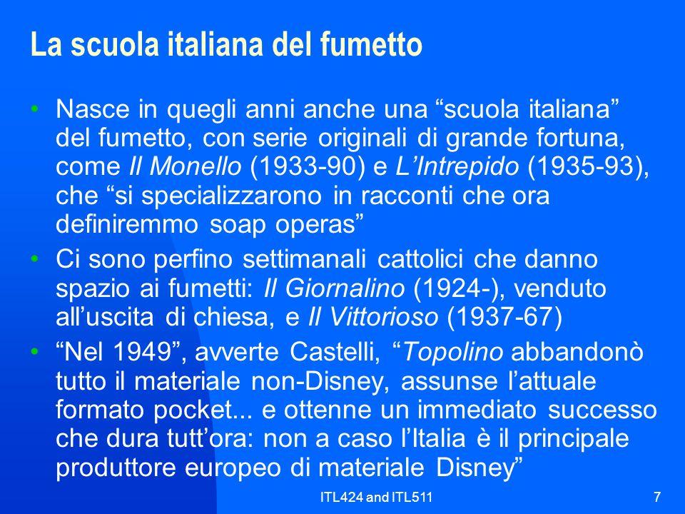 La scuola italiana del fumetto