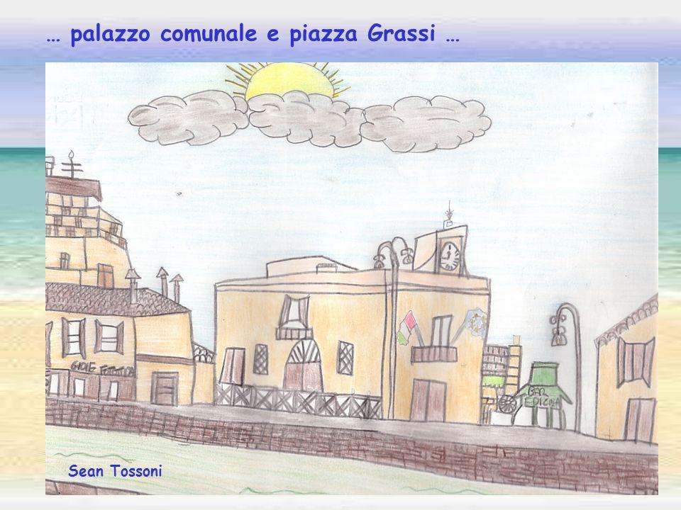 … palazzo comunale e piazza Grassi …